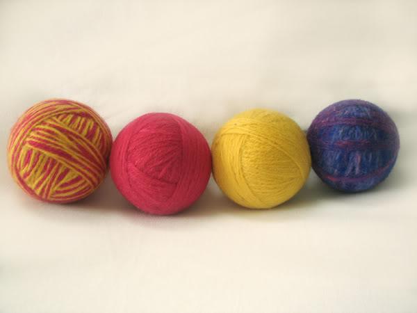 Make Your Own Wool Dryer Balls
