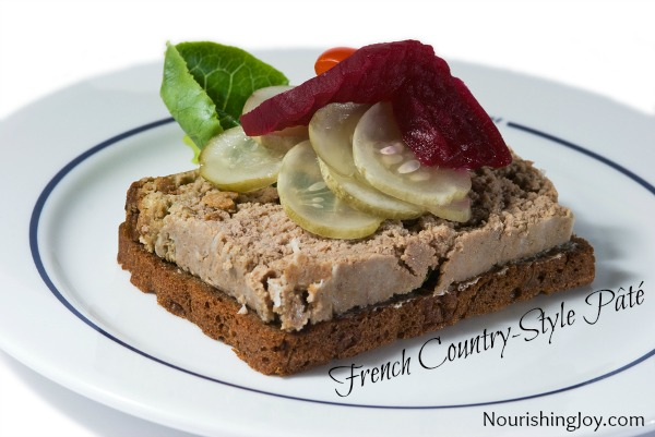 Beef liver pate recipe french