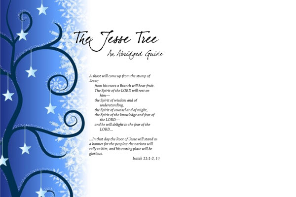 A Jesse Tree Guide for Advent