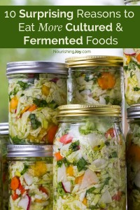 This might be a gorgeous kraut, but there are SO many other fermented and cultured foods - see which ones are YOUR favorites and why you should be eating them - every day!
