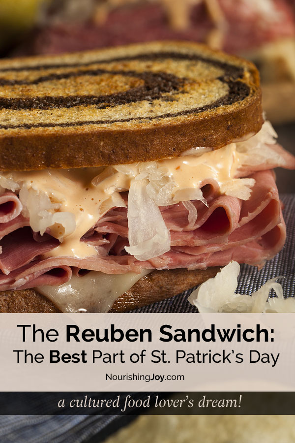 The Reuben Sandwich: seriously the best part of St. Patrick's Day!