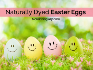 Naturally Dyed Easter Eggs - they're easier to make than you think!