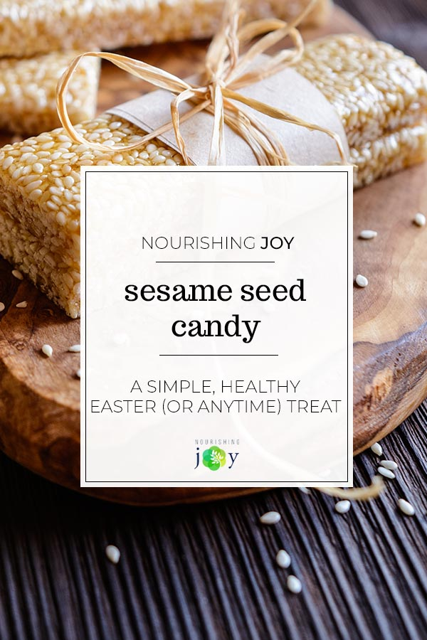 Spiced Sesame Seed Candy