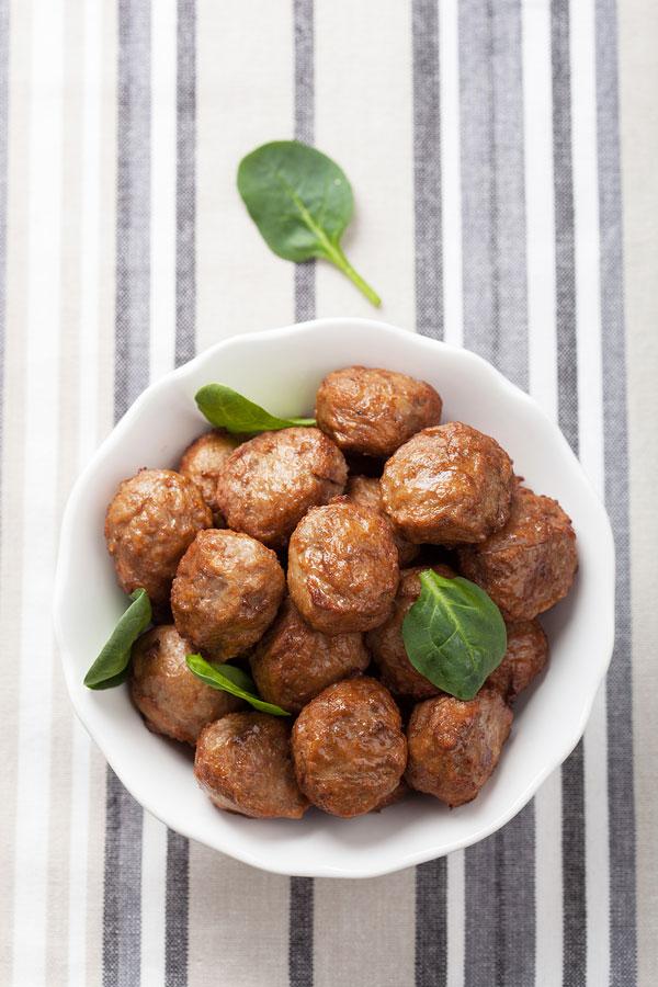 Lamb and Quinoa Meatballs