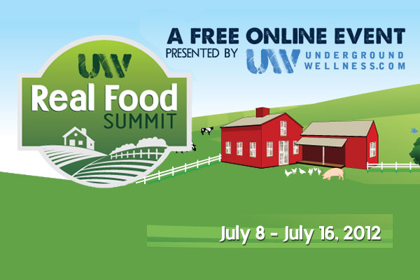 The Real Food Summit Begins Today! (and it's FREE!)