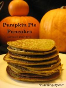 Pumpkin Pie Pancakes - yummy yummy yummy!