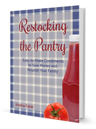 Restocking the Pantry   NourishingJoy.com
