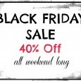 Black Friday Sale at NourishingJoy.com