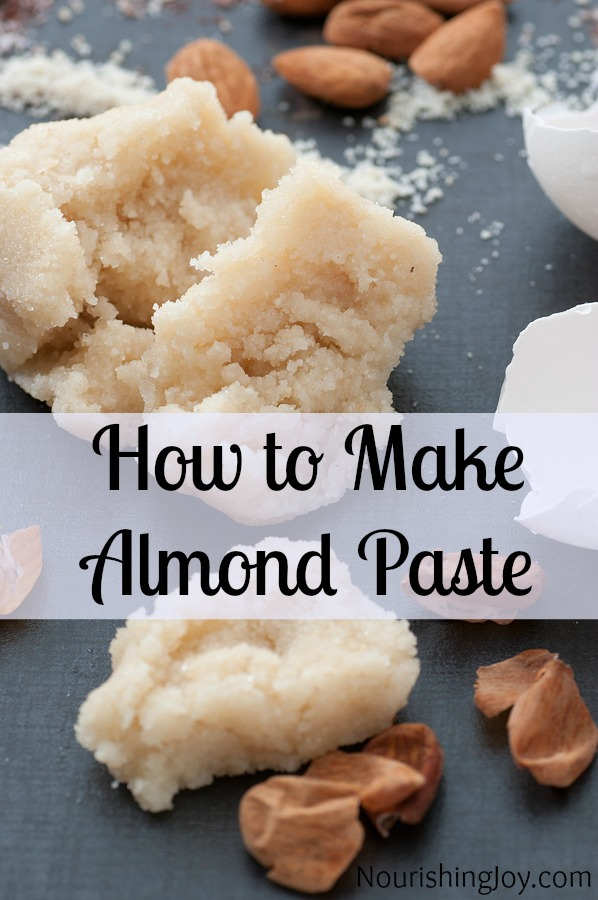 how to make almond paste for babies