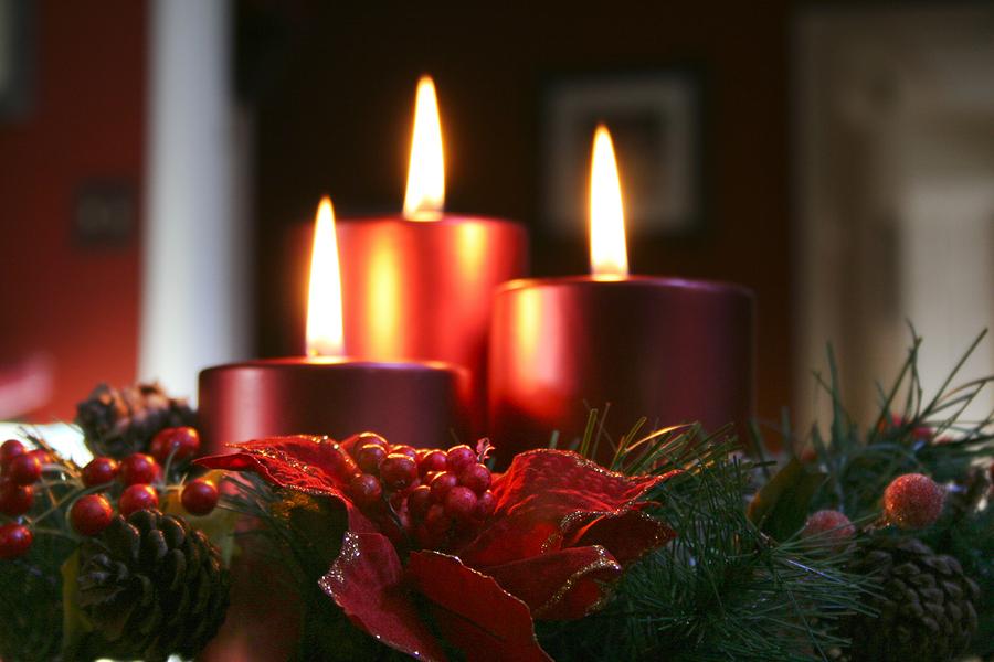 Merry christmas nourishing joy