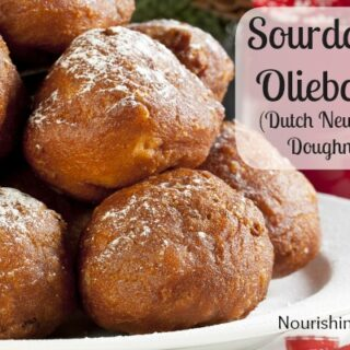 Sourdough Oliebollen: Dutch New Year's Doughnuts