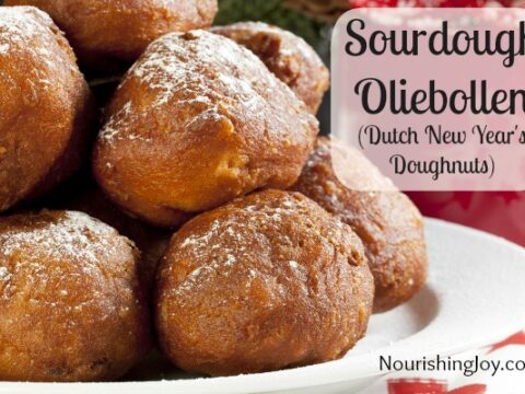 Sourdough Oliebollen