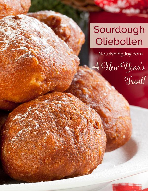 Sourdough Oliebollen: Dutch New Year's Doughnuts