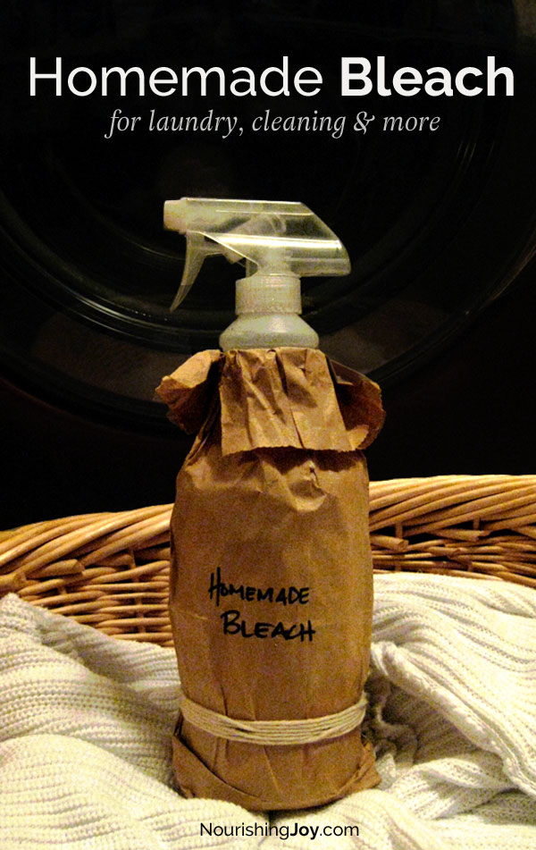 Homemade bleach is an effective disinfectant, clothes whitener, and all-purpose household sanitizer. Check out our inexpensive, non-toxic recipes!