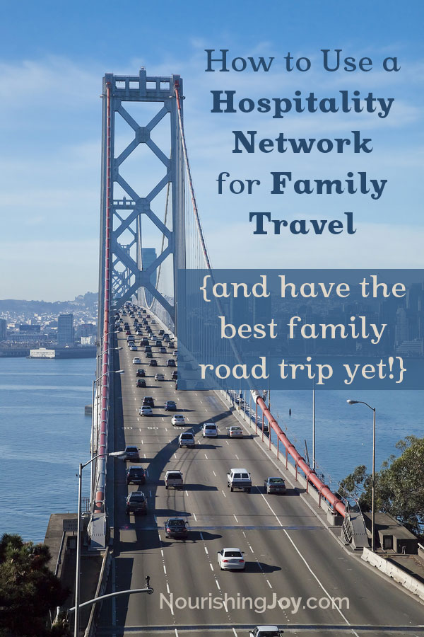 Have your best road trip yet with your family using a hospitality network. I grew up traveling this way and it was one of the richest experiences of my childhood.