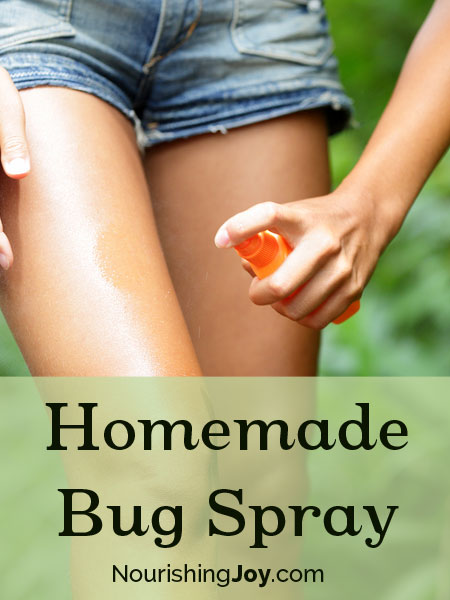 Homemade Bug Spray and Insect Repellents | NourishingJoy.com