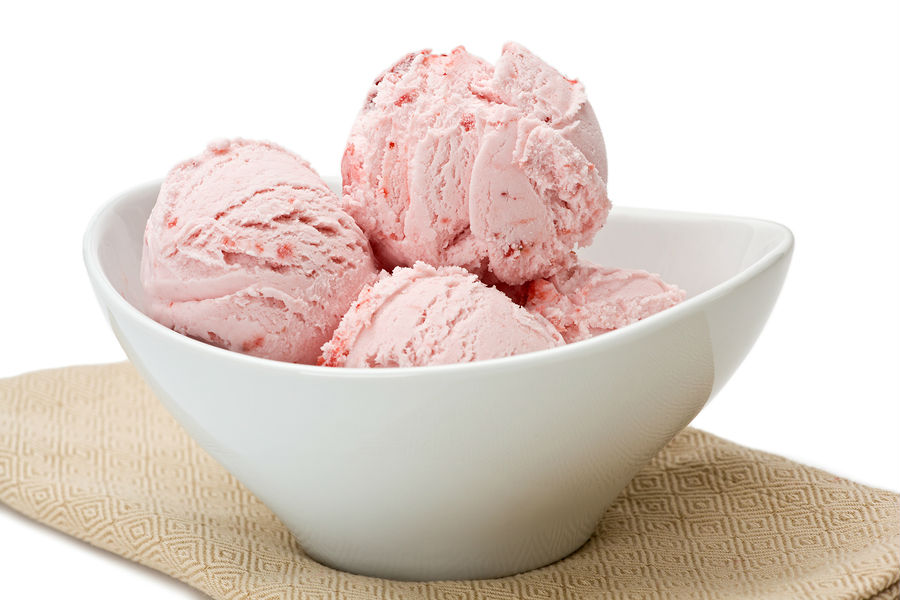 Strawberry Ice Cream - Nourishing Joy