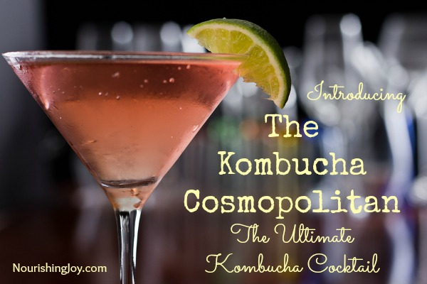 Kombucha Cosmopolitan: The Ultimate Kombucha Cocktail