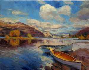"""How to Live Like a Rich Person - with What You Have   Artwork: """"ShoreLeave"""" by SteveHenderson"""
