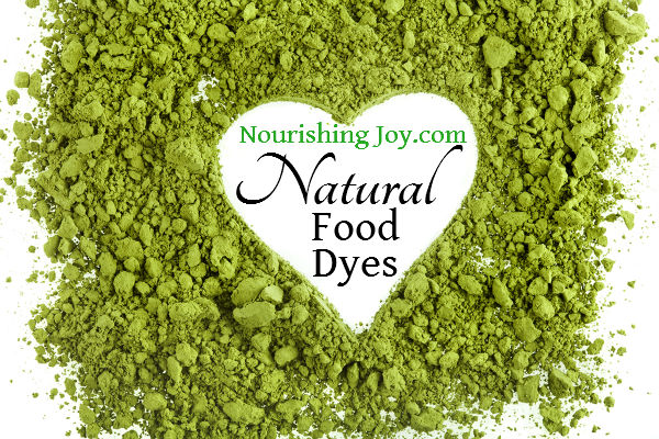 How to Make Natural Food Dyes | NourishingJoy.com