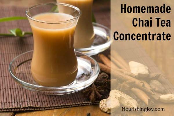 Homemade Chai Tea Concentrate | NourishingJoy.com