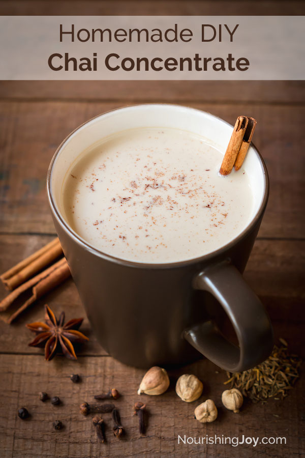 Skip the store-bought mix and make this deeply fragrant homemade chai concentrate instead.