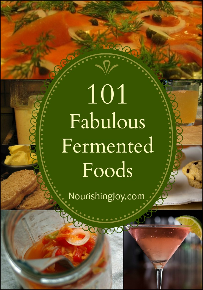 101 Fabulous Fermented Recipes | NourishmentSpy.com