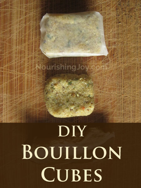 Homemade Bouillon Cubes - Nourishing Joy