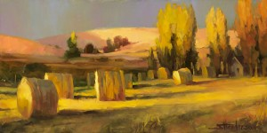 Hard work, sunshine, family, a safe home -- these aspects of the simple life are priceless. Homeland 3 by Steve Henderson; licensed open edition art print available at Great Big Canvas.