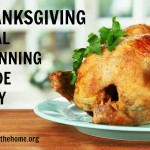 Thanksgiving Meal Planning Made Easy!