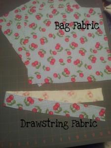 Drawstring bag materials