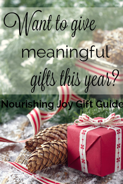 christmas gift guide for thoughtful meaningful gifts nourishingjoycom