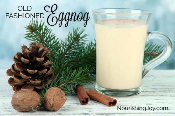 Old-Fashioned Homemade Eggnog | NourishingJoy.com