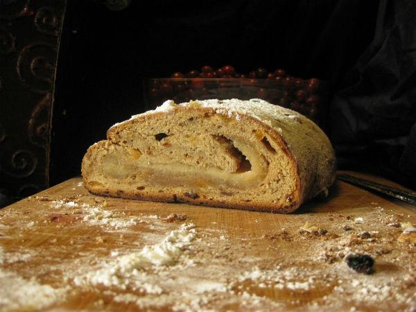 Sourdough Stollen (Christmas Bread)