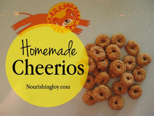 Homemade cheerios nourishing joy homemade cheerios nourishingjoy ccuart Choice Image