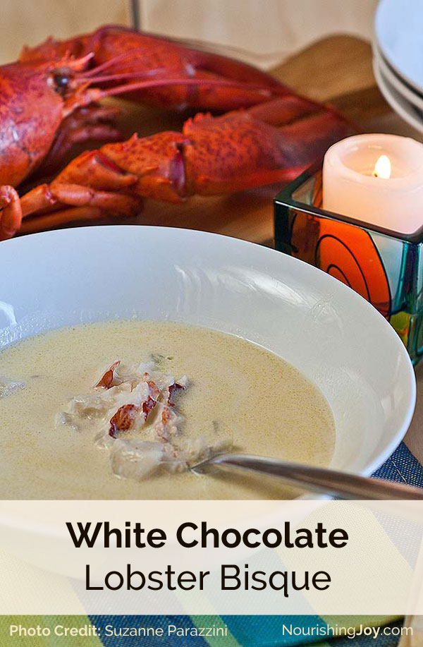 White Chocolate Lobster Bisque