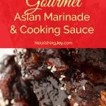 Better-than-Yoshida's Gourmet Asian Marinade and Cooking Sauce - yum yum yum! | NourishingJoy.com