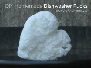 DIY Dishwasher Detergent Pucks | NourishingJoy.com