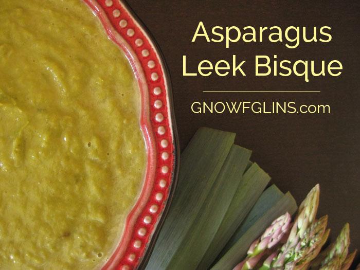 Asparagus Leek Bisque