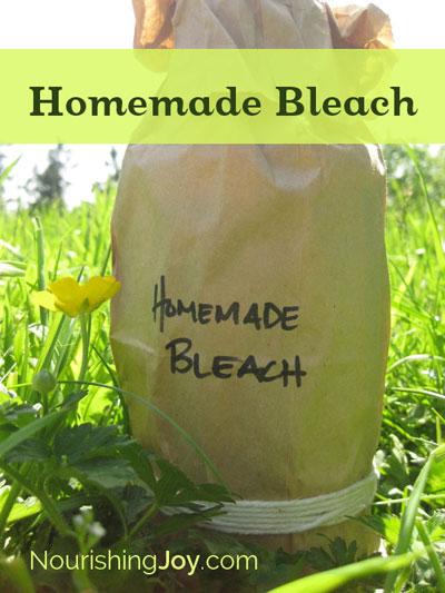How to Make 27 Homemade Cleaners that actually work | NourishingJoy.com