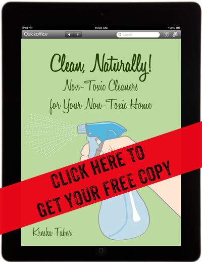 Clean, Naturally! A Concise Guide to Non-Toxic, Homemade Cleaners - a superbly handy book!