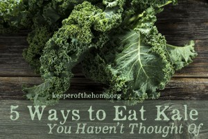 5 Ways to Eat Kale You (Likely) Haven't Thought of Before + a scrumptious kale pesto recipe