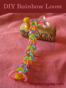 DIY Rainbow Loom | NourishingJoy.com