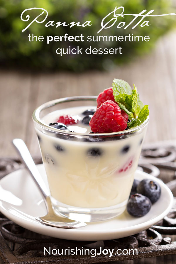 Panna Cotta: The simplest & most perfect dessert in pretty much every way!