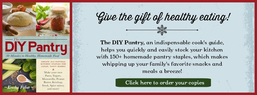 Give the gift of healthy eating with The DIY Pantry!