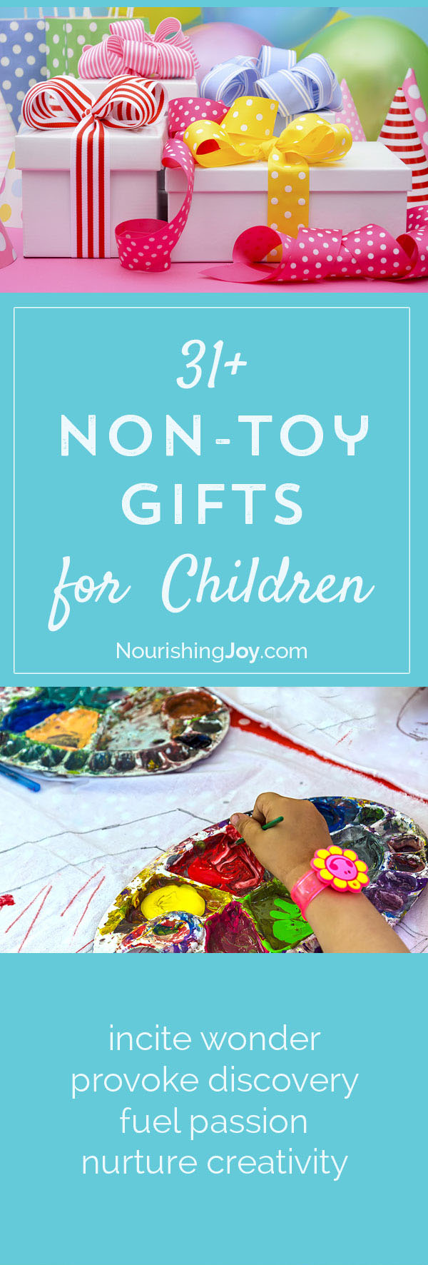 an essential list of fun delightful gifts for children that arent toys