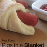 Real Food Pigs in a Blanket - serve your favorite hot dog treat guilt-free!