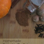 Homemade Pumpkin Pie Spice | NourishingJoy.com