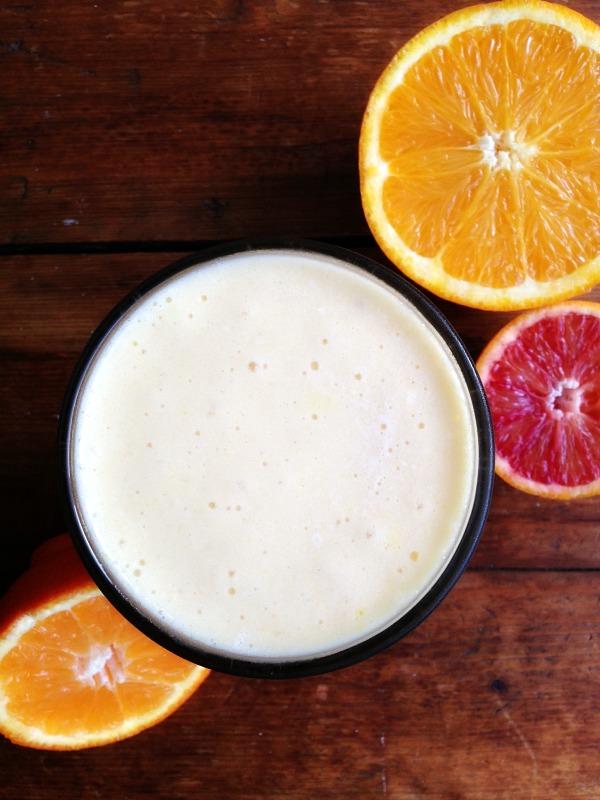 Orange Tropical Turmeric Smoothie Nourishing Joy