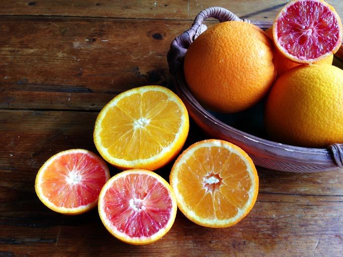 Oranges Tangelos and Blood Oranges